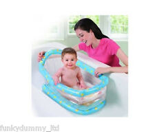 SUMMER INFLATABLE BABY BATH, TRAVEL BATH, COMFORTABLE SAFE BATHING