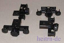 LEGO - 4 Puffer mit Kupplung und Magnet für 9V / RC Eisenbahn / 91968c01 NEUWARE