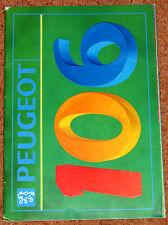 1991 PEUGEOT 106 UK Launch Sales Brochure - XSi XT XR XN