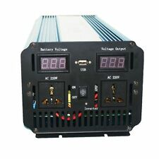 12V to 220V - 240V Pure Sine Wave 2000W 4000W(peak) Power Inverter+Charger & UPS
