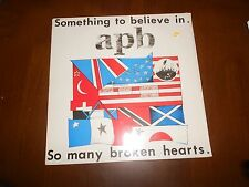 "APB SOMETHING TO BELIEVE IN VINYL 12"" VG+ OR BETTER RED RIVER"