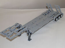 "NEW LEGO TECHNIC GRAY CUSTOM FLATBED TRAILER 25""-Long 8258/8285/8436/9397"