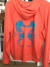 NWT Seaton Sea Horse Super Soft Hoodie Large