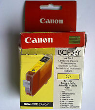 Original Canon BCI-3eY BCI-3Y Yellow Ink Tank Made in Japan