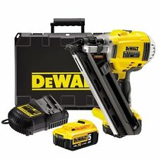 DeWalt XR DCN692P2 Cordless 18v Brushless 90mm Gasless Framing Nailer 5AH Li-Ion