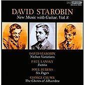 Guitar Music Vol. 8 [David Starobin, Mari Yoshinaga, Patrick Mason, Daniel Druck