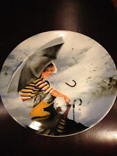 """Donald Zolan's """"Touching The Sky"""" Plate From The Wonder Of Childhood Collection"""