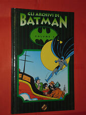 GLI ARCHIVI DI BATMAN- N° 3-TIRATURA LIMITATA  A COLORI -DI BOB KANE -PLAY PRESS