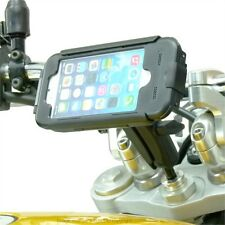 17.5-20.5mm Extended Motorcycle Stem Mount & TiGRA Case for iPhone 6S (4.7)