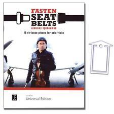 Aleksey Igudesman: Fasten Seatbelts für Violine - NotenKlammer - 9783702473877