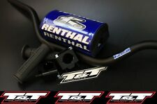 renthal fatbar can am ds 450 handlebar grips clamps renthal fat bar blue pad trx