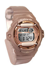 Casio BG169G-4 Baby-G pink gold Digital  Women Watch NEW
