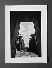 Jeanloup Sieff Original Offset Photo Lithograph 27x37cm Marne la Vallée 1987 B&W