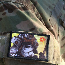 Stormtrooper Samurai Velcro Morale Patch Star Wars Milspec Tactical