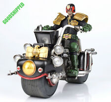 3A OFFICAL 2000AD 2000 AD JUDGE DREDD + LAWMASTER MK1 BIKE FULL LED 1/12 COMBO