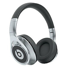 Genuine Beats by Dr. Dre Executive Wired Over-Ear Headphones – Silver