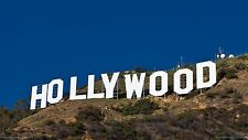 HOLLYWOOD SIGN CALIFORNIA POSTER 24 X 36 Inches Looks GREAT!