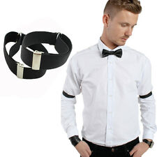 Men's Adjustable Elastic Shirt Sleeve Arm Band Sleeve Holder Wrist Band For Men