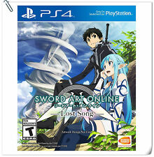 PS4 Sword Art Online SAO Lost Song English SONY Action Games Bandai