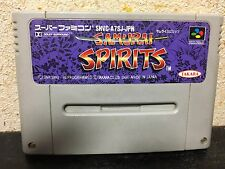 Samurai Spirits Super Famicom Japan NTSC-J Nintendo SNK Takara Samurai Showdown