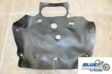 07-08 KAWASAKI NINJA ZX6 R OEM ENGINE SPLASH MAT RUBBER COVER GUARD PROTECTOR
