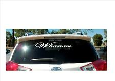 New Zealand Maori Whanau Removable Vinyl Decal Sticker  Various Colours