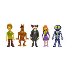 Scoobydoo Mystery Minis 5 Figur - Scooby, Shaggy, Dracula, Daphne & Skeleton