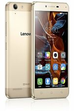 Lenovo Vibe K5 Gold/Grey|16 GB|Snapdragon|2GB RAM|13/5MP|1 yr Lenovo Warranty