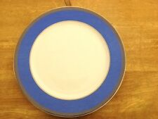 Rosenthal COLOR COLLECTION  BLUE greek Key Service Plate (Charger) 4263561 - NIB