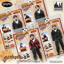 The Monkees; TUXEDO Outfit; SET OF 4;  8 INCH ACTION FIGURE  NEW