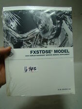 Harley FXSTDSE2 Softail Deuce service manual supplement 99494-04 NOS EPS16943