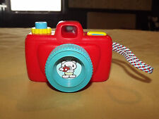 VINTAGE 1982 BLUE BOX TOY CAMERA