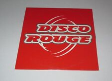 Disco rouge - disco rouge - cd single 3 titres 1997