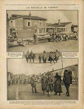 Poilus Zouaves Tirailleurs Algériens Bataille de Verdun Lorraine France 1914 WWI