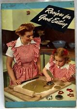 CRISCO OIL ADVERTISING RECIPE INFORMATIONAL BROCHURE GUIDE 1945 WWII VINTAGE