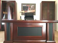NEW MODERN LUXURY EXECUTIVE OFFICE PROFESSIONA DESKS SUITE 1.8M L-SHAPE D-1871BS