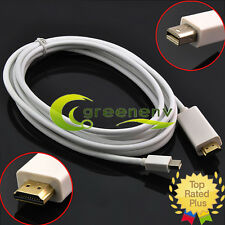10ft Thunderbolt Mini Display Port DP To HDMI Adapter Cable for Apple Mac Book
