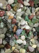 MIXED GEMSTONES & CRYSTALS LARGER SIZE TUMBLED STONES 1KG BAGS REIKI HEALING