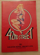 Theatre Royal Drury Lane:Maxine Audley Bob Sessions Carol Ball in 42nd STREET