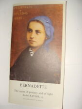 Bernadette Saint of Poverty and of Light 1974 Andre Ravier Catholic Lourdes