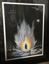 Eminem Signed Slim Shady Autographed Recovery Litho Hand Signed Only 500 Made!!