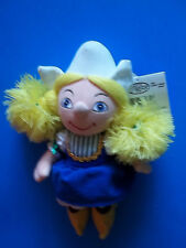 The Disney Store It's A Small World HOLLAND Girl Plush Doll NWT