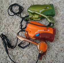 2 LASER LAZER TAG Team OPs Set, Walkies,Talkies Ear & Mouth Pieces Awesome