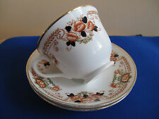 Antique Royal Albert CROWN CHINA  Cup and 2x Saucers  #4705  c.1917-27