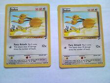 Pokemon Trading Card Game - Base Set 2 Expansion - Doduo