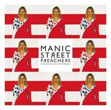 """MANIC STREET PREACHERS YOUR LOVE ALONE IS NOT ENOUGH VINILE 12"""" RSD 2017 NUOVO"""