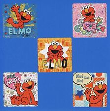 15 Elmo - Large Stickers - Party Favors - Rewards - Sesame Street