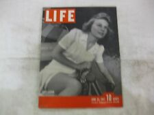 Life Magazine June 23rd 1941 Lazy Fishing Published By Time                mg129