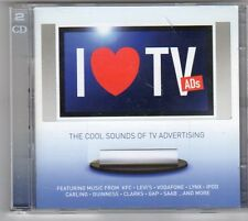 (ES828) I Love TV Ads: The Cool Sounds Of TV Advertising, 2 Disc  - 2004 CD