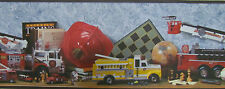 Muro di confine.. FIRE MOTORI, collettori, effetto vintage, di carte da parati NUOVO CON SCATOLA 40808410